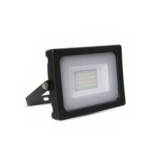 Projecteur LED SLIM 10W SMD 6400K 100° 800LM IP65 - Noir