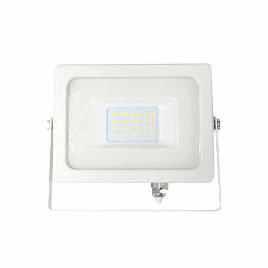 30W LED Floodlight SMD 6400K 100° 2550LM A+ IP65 SMD - White