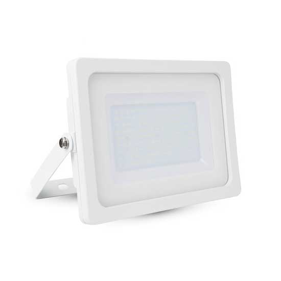 100W LED Floodlight SMD 6400K 100° 8500LM A+ IP65 - Shiny White
