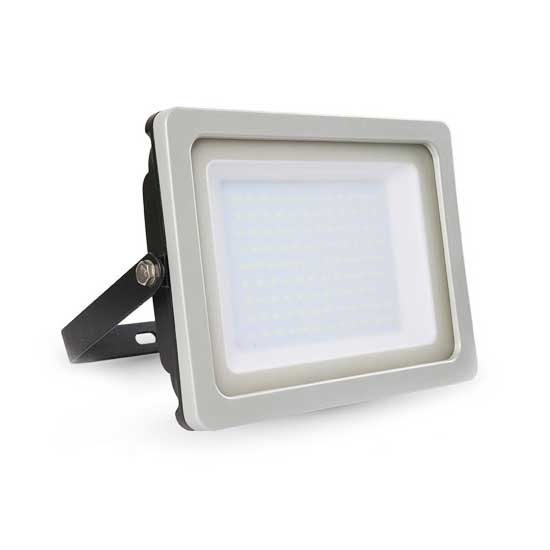 100W LED Floodlight SMD 6400K 100° 8500LM A+ IP65 - Shiny G&B