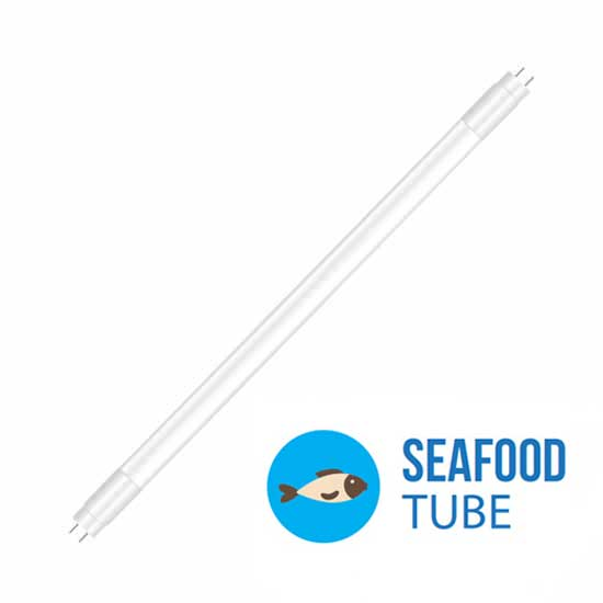 LED SEAFOOD Tube T8 G13 1530LM 18W 120CM Plastic Not Rotatable
