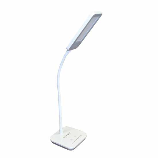 Table lamp LED Grey 7W 120 ° natural white 5000K Dimmable