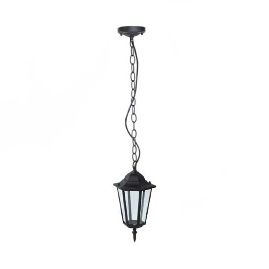 Garden Ceiling Lamp Rainproof Black IP44 Holder E27 Max. 40W