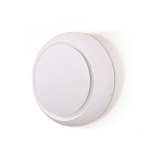 5W Wall Lamp White Aluminium Body Round Rotatable IP20 3000K