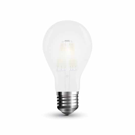 LED Lampe 5W Filament Glühfaden Frosted E27 2700K 300° 600LM A++