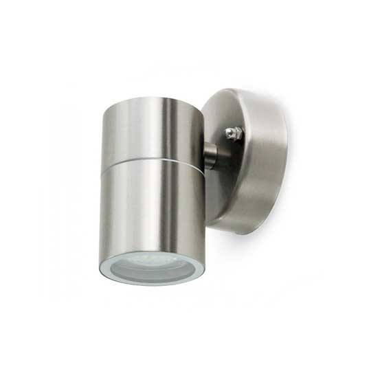Wall Glass Fitting GU10 Steel Body 1 Way IP44 1xGU10 - SKU 7501