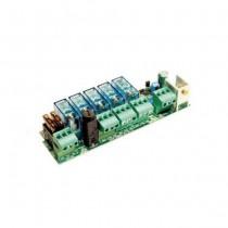 Scheda collegamento di 2 batterie di emergenza 12V 1,2 Ah LB180