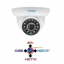 Dome Camera CCTV 2.8mm HYUNDAI 4IN1 Hybrid 2Mpx HD@1080p White IP65 LPS HYU-324