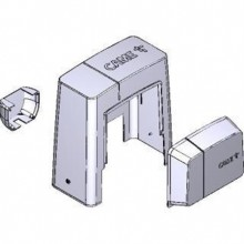 CAME Cover group Cache de remplacement gris foncé pour motoréducteurs BK nouvelle série 88001-0084