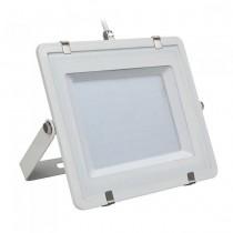 V-TAC PRO VT-206 Faro led 200W slim alluminio bianco chip Samsung SMD alta luminosità bianco freddo 6400K - SKU 788