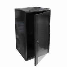 """Hanging Rack Cabinet Black RAL9004 19"""" 22U 600mm"""