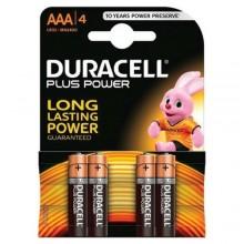 Pile Duracell Plus Power Batterie Alcaline Stilo AAA 1.5V Confezione da 4 Pz  MN2400