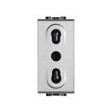 NT4180 Bticino Living Light 2P + T 10 / 16A 250V TECH plug EU