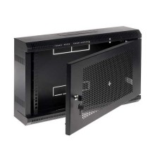 "Armadio Rack pensile Nero RAL9004 19"" 6U 150mm"