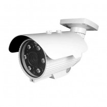 Telecamera bullet cctv motozoom 6-22mm 4IN1 ibrida 2Mpx FULL HD 1080p OSD IP66