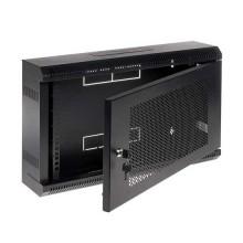 """Hangender Rack-Kasten Schwarz RAL9004 19"""" 6U 150mm"""