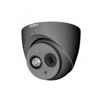 Dahua HAC-HDW1200EM-A-S4-DG dome camera hdcvi hybrid 4in1 2Mpx 2.8mm matt gray osd audio ip67