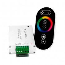 V-TAC VT-2405 Contrôleur RF pour bande LED RGB avec télécommande touch - SKU 3312