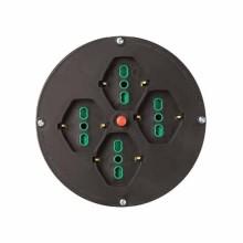 Ersatzdrahtscheibe Ø145/205mm für Kabelrolle 4 Buchsen 2P+E 16A + Thermoabschaltung Fanton 01906