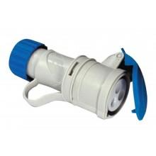 Trailing ARGO socket quick wiring 2P+E 16A 200-250V 6h IP44 Fanton 71100