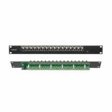 """Presa di distribuzione BNC 16 output CCTV per Rack 19"""""""