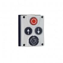 Boîtier de commande XB300 24V contact maintenu clé pour Motoréducteur 540 / 541 FAAC 402 500