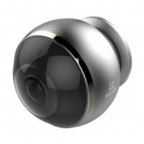 Hikvision Ezviz C6P (Mini Pano) CS-CV346-AO-7A3WFR Mini indoor IP-Cam fisheye 360° Wi-fi hd+ 3mpx audio slot sd p2p