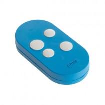 Télécommande quadricanal rolling code dual frequency CAME TOPD4RBS Bleu