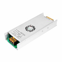V-TAC VT-24350 Alimentation LED SLIM 350W 24V 15A 2 sorties acier inoxydable IP20 - SKU 3263