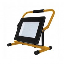V-TAC VT-42100 100W led floodlight V-TAC with Stand And EU Plug Schuko 3MT Black Body cold white 6400K - SKU 5932