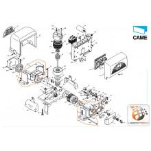 Kasten Getriebemotor BX-E BX-E241 – 119RIBX014