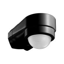 V-TAC VT-8094 Sensore di movimento a infrarossi IR + crepuscolare nero regolabile IP65 - sku 6612