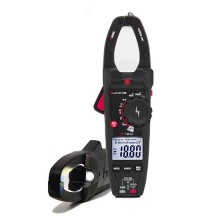 Professional amperometric clamp meters TRMS measurements with phase detector and flashlight Uniks C120