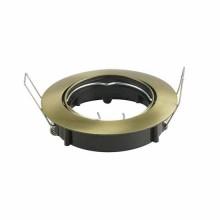 V-TAC VT-799RD Plafond or métallique réglable 15° pour Spotlights LED GU10-GU5.3 - SKU 8579