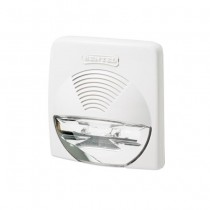 Bentel WAVE-WS 12V Internal siren white 104dB with Flasher IP31