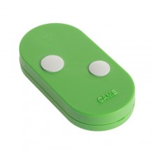 Telecomando Rolling code 2 canali dual frequency came TOPD2RES Verde