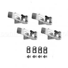 Clip di montaggio per panelli 600x600 Kanlux CLIPS BRAVO 6060/6262 Cod.25945