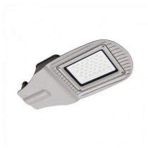 Réverbère 30W LED Street light V-TAC SMD 100° 2400LM aluminium Gris Imperméable IP65 VT-15030ST - SKU 5488 Blanc froid 6400K