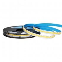V-TAC VT-512 Striscia LED 24V COB 5M monocolore bianco caldo 3000K CRI>90 IP20 - SKU 2649