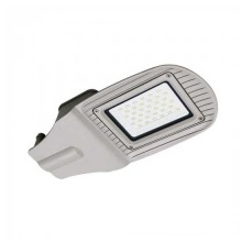 Réverbère 30W LED Street light V-TAC SMD 100° 2400LM aluminium Gris Imperméable IP65 VT-15030ST - SKU 5487 Blanc neutre 4000K