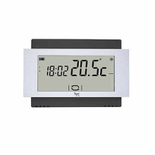 Touch-Screen-Thermostat 230V schwarz Wand Bpt TA/500 BK 230
