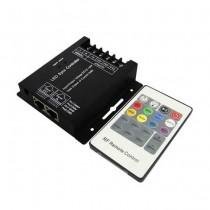 V-TAC VT-2420 Controller dimmer SYNC connessione RJ45 per strip LED RGB con telecomando - SKU 3339