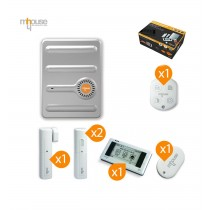 Kit allarme wireless antifurto senza fili Mhouse GSM MAK5FR touchscreen