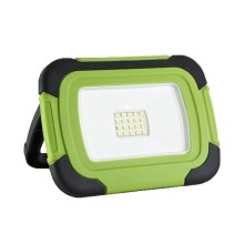 V-TAC VT-10-R 10W rechargeable LED floodlights chip samsung day white 4000K plastic body IP45 - sku 20038