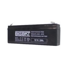 12V 2Ah wiederaufladbare VRLA-Batterie Elan BigBat - sku 01202