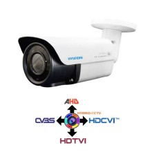 Bullet Camera 2.8-12mm HYUNDAI 4IN1 HYBRID 2.1Mpx HD@1080p White IP66 LPS