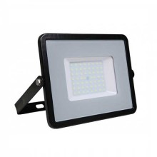 V-TAC PRO VT-50 50W Led Floodlight black slim Chip Samsung SMD day white 4000K - SKU 407