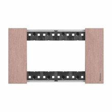 4 modules Bticino Living Now plate copper color KA4804ZM