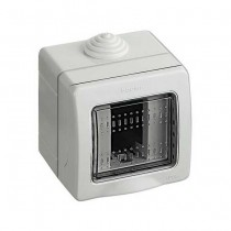 BTICINO 25501 custodia IP55 Idrobox 1 modulo MATIX con portello di protezione