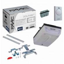 FAAC DOLPHIN kit safe automazione basculanti e sezionali porta garage 24V